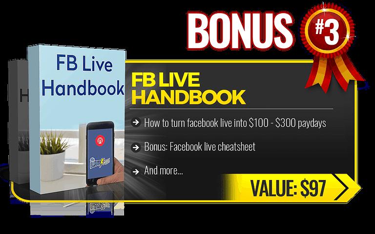 My bonus for ecom elites: FB Live Handbook