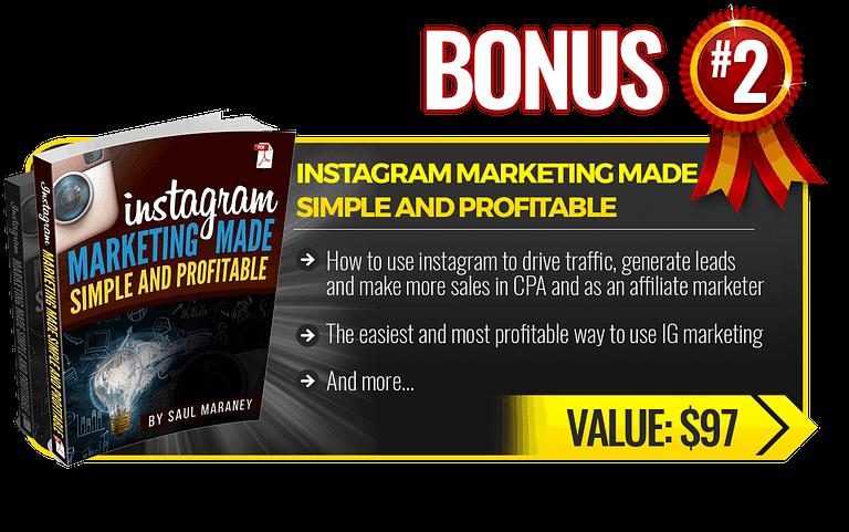 My bonus for ecom elites: Instagram Marketing Made Simple and Profitable