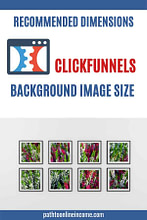 recommended dimensions for clickfunnels background image size