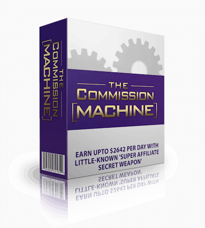 The Commission Machine by Michael Cheney