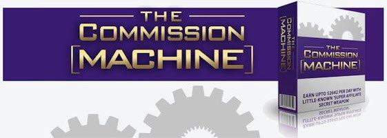 the commission machine logo