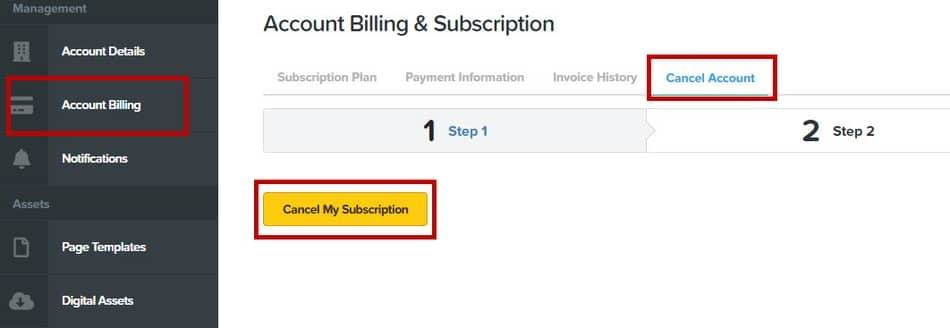 How to cancel ClickFunnels 2