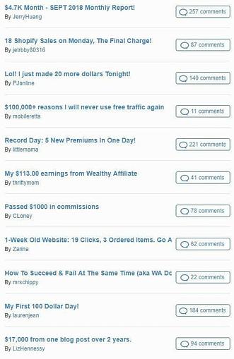 Wealthy Affilaite Testimonial 2